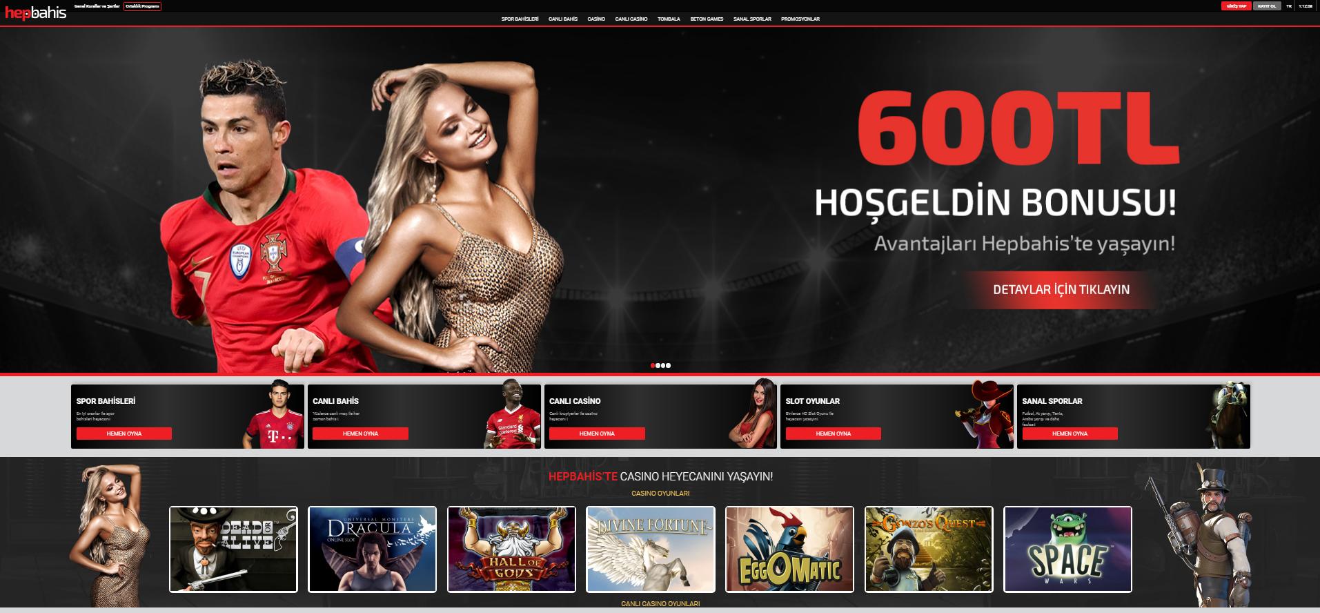 Hepbahis Screenshot